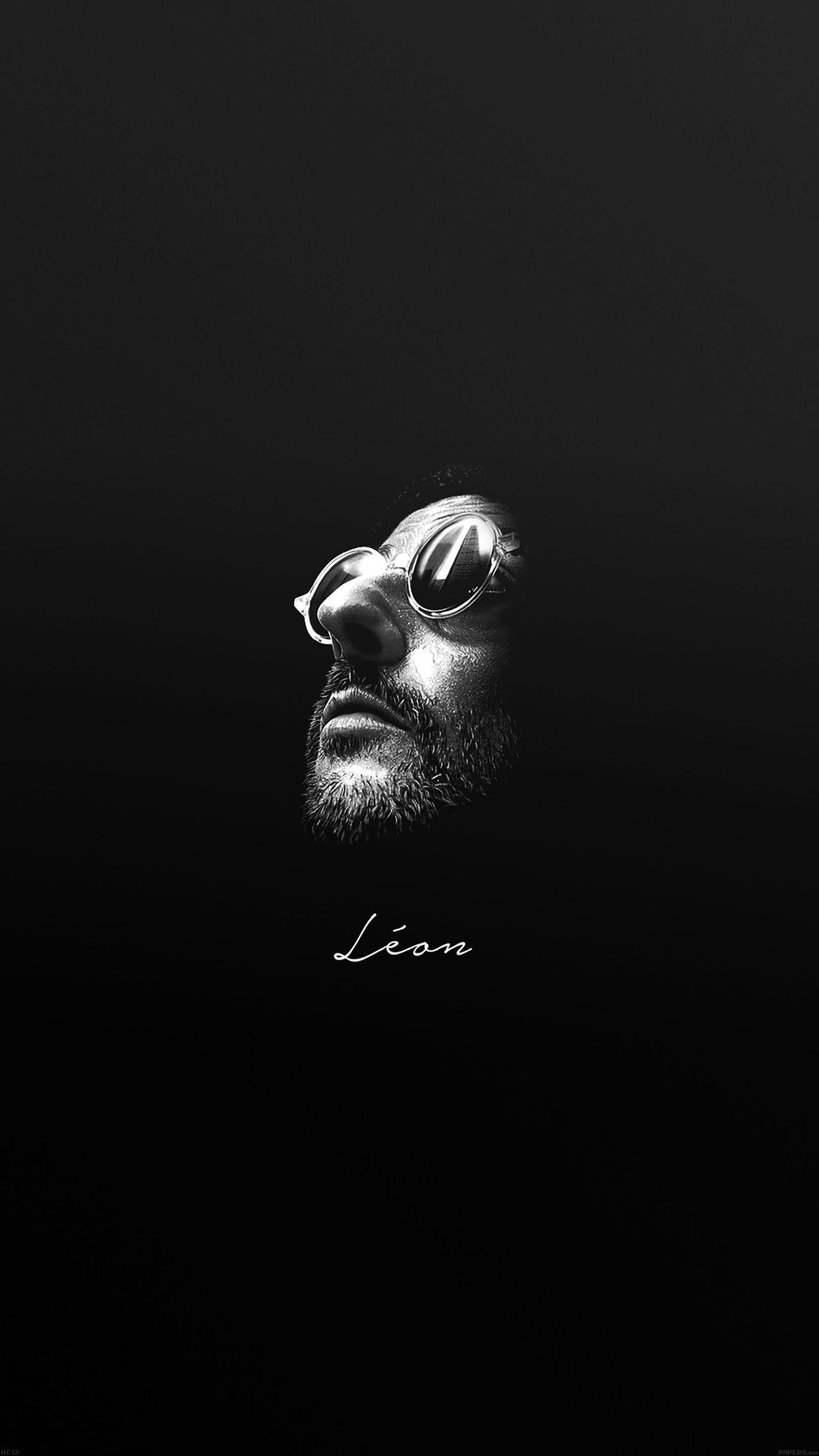 leon face minimal simple art iphone 6 plus wallpapers
