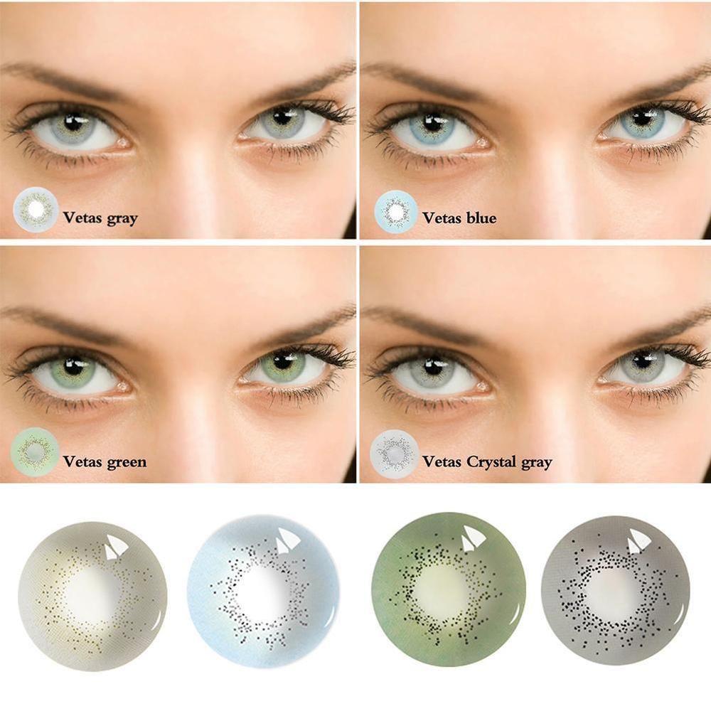 Men Women Natural Plain Glass Contact Lenses Party Eye Beauty Cosmetic Eyewear Unbranded Cvetnye Kontaktnye Linzy Predmety Makiyazha Kontaktnye Linzy