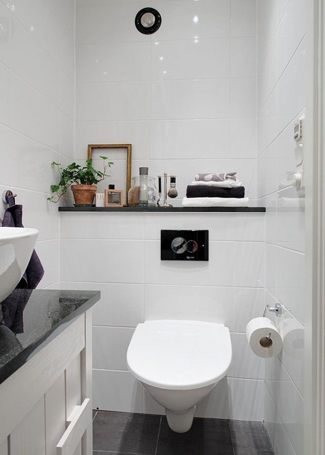 Nos id es pour d corer ses wc les wc pinterest salle - Decorer ses wc ...