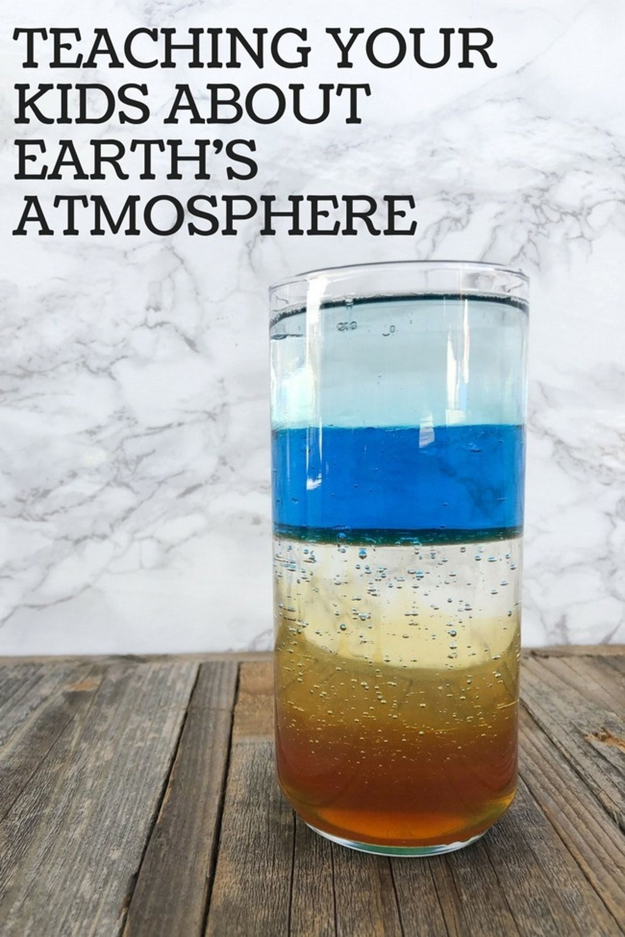 How To Teach Your Kids About Earth S Atmosphere With
