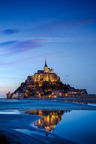 www.tektonministries.org ~~Mont Saint Michel, Normandy, France by Beboy_photographies~~