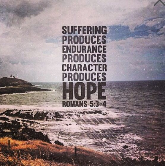 Image result for romans 5:3