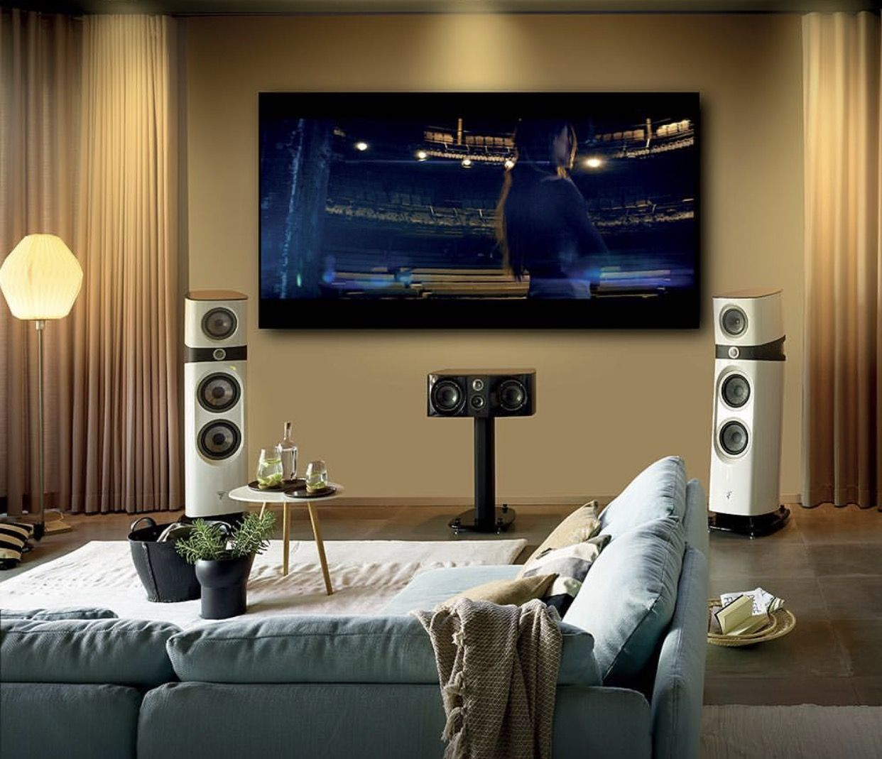 Pin On Best Tv Set Ups To Binge Watch From #surround #sound #system #for #living #room
