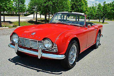 #Cars Triumph: TR-4 Roadster tr4 best to be found convertible. Rotisserie restored every https://t.co/Bb6KjX5jYA https://t.co/GqEIXTJfqn -------------- --------->> http://twitter.com/InstantTimeDeal/status/739325439739449345