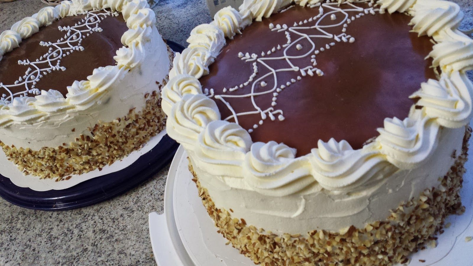 Caramel-Chocolate Cake