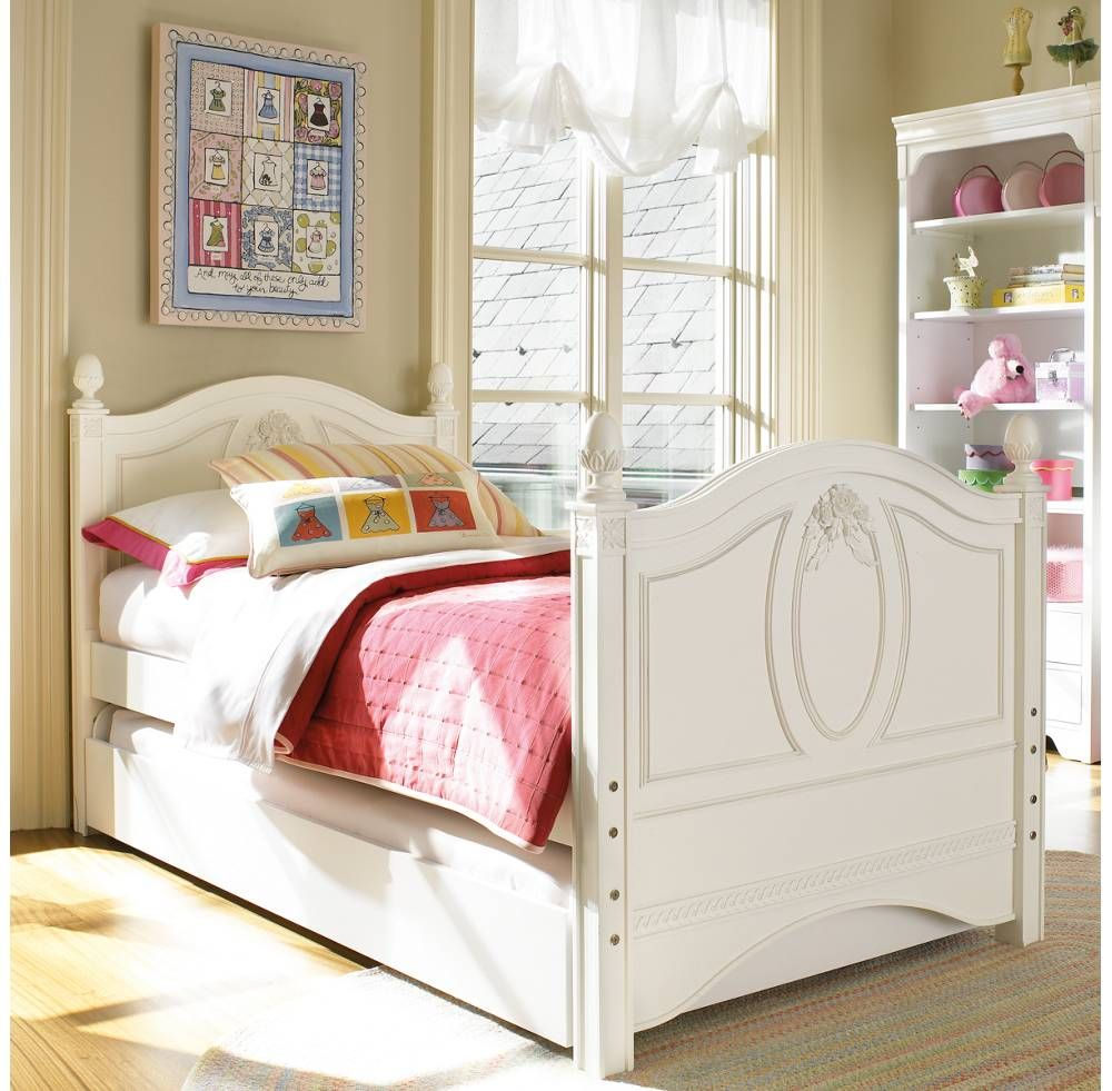 Young America Trundle Bed Storage Drawer  Trundle bed with