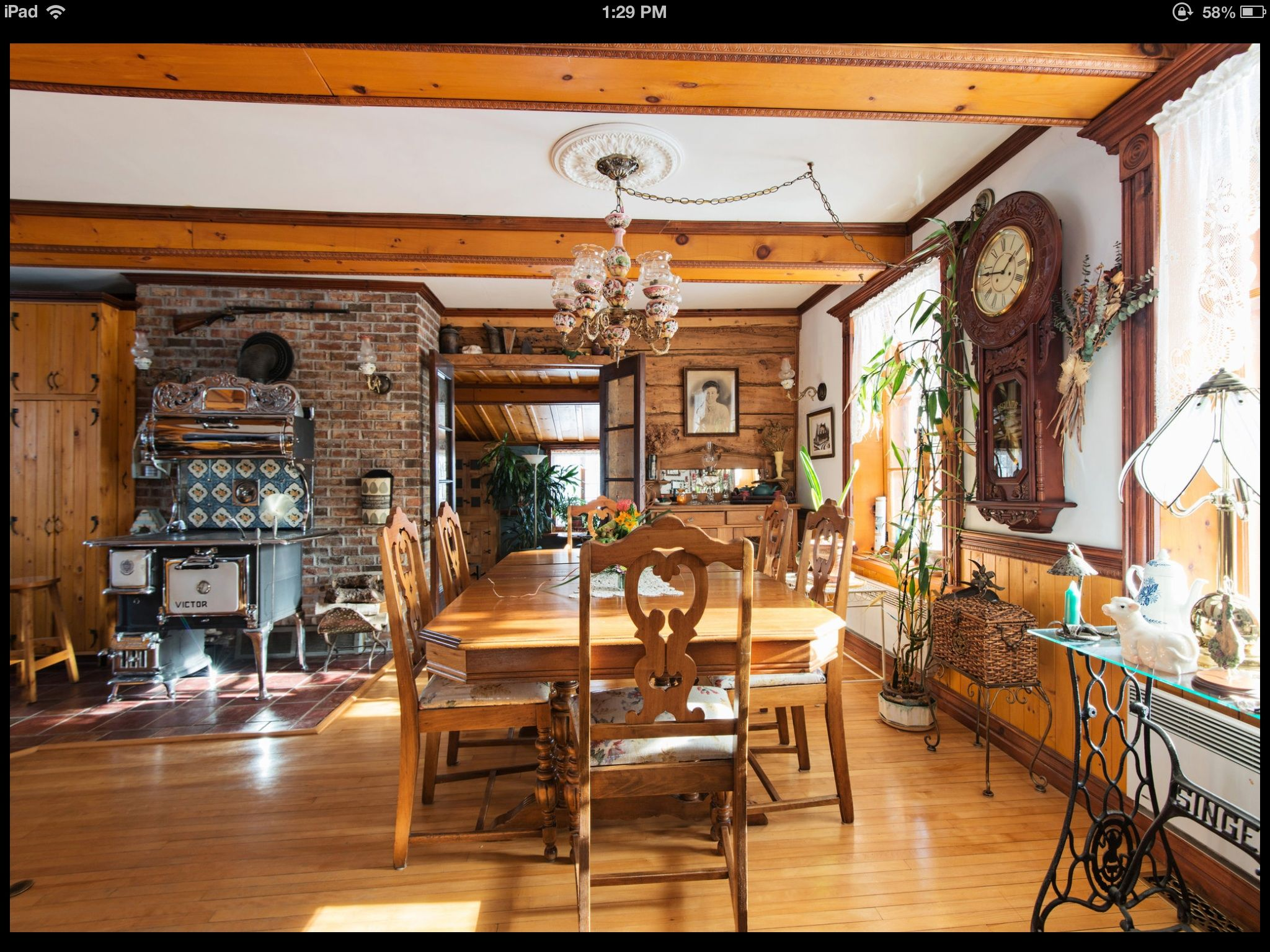 Beautiful French Canadian Style Home For Sale In Quebec With