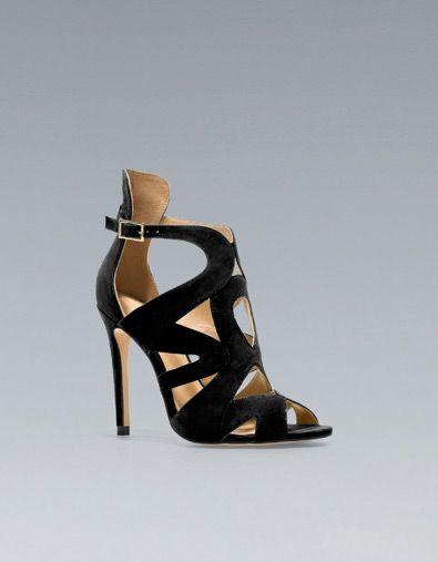 sandale talon et lani res zara h12e13 pinterest. Black Bedroom Furniture Sets. Home Design Ideas