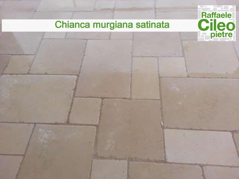 Pavimento In Pietra Di Trani : Dettaglio pavimento realizzato con pietra di trani satinata