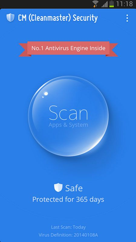 CM Security - Antivirus FREE, Android market best android