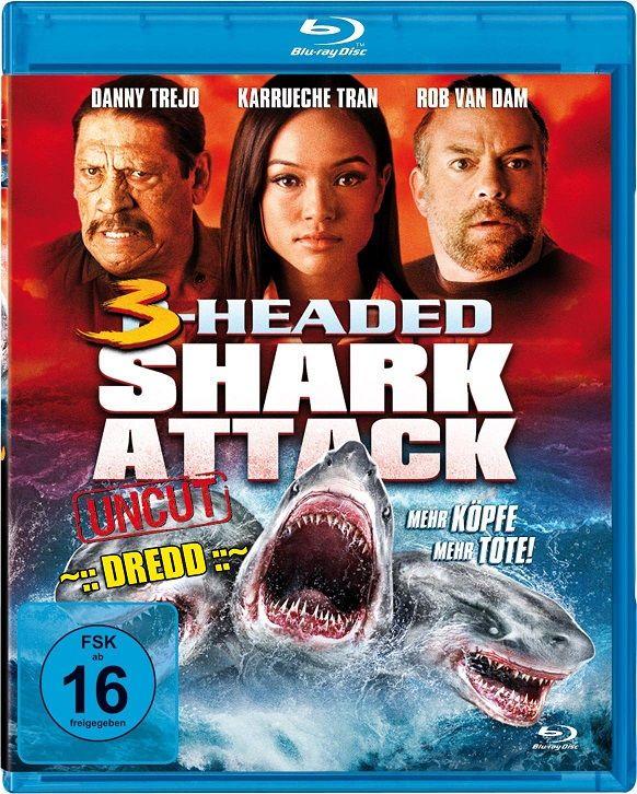 3 Headed Shark 2015 Hindi Dubbed Brrip