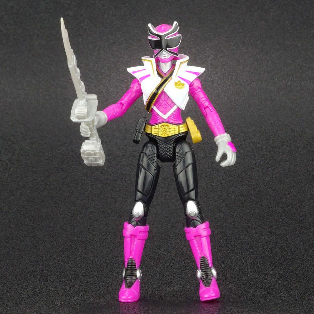 "Power Rangers Super Samurai Sky PINK RANGER 4"" Action Figure MMPR Bandai 2013 #Bandai"