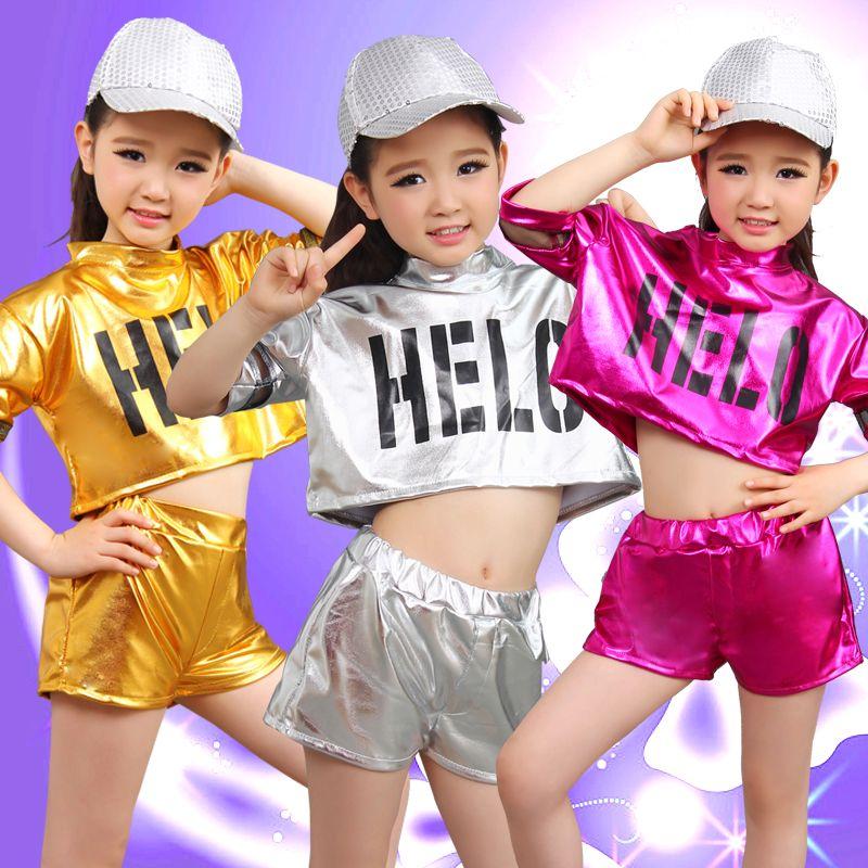 9a416733488bb Girl Jazz Dance Girls Jazz Dance Costumes for Girls Kids Hip Hop ...