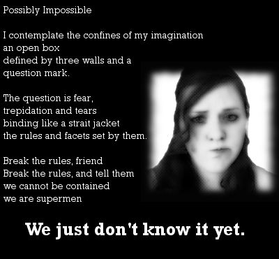 Possibly Impossible Poem A New Way To View Your Potential For - Impossible poem