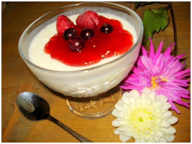 Mi vida en sueños: Mousse de yogur con frambuesa