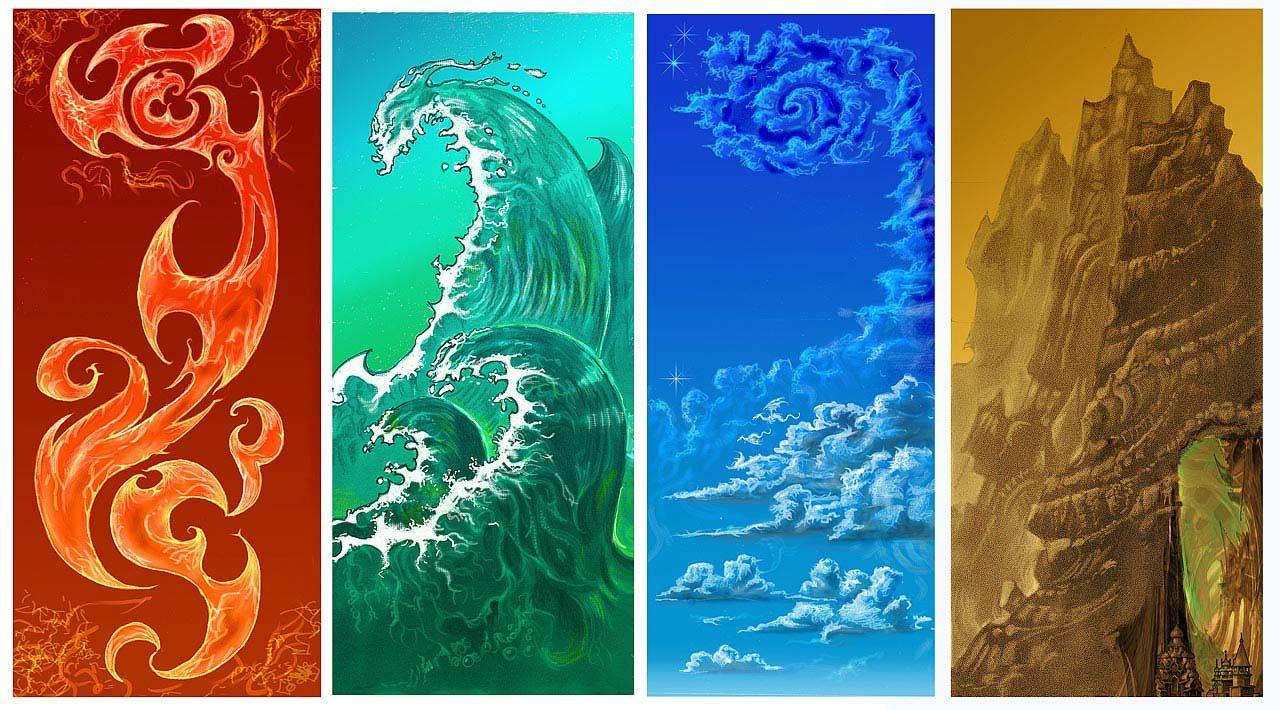 Four Elements Art : Elemental control magick