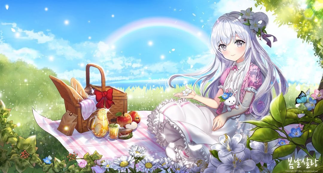 Lovely day for a picnic original in 2020 sky anime