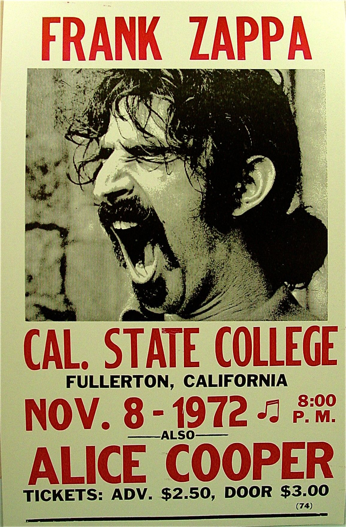 Frank Zappa Happy Birthday for frank zappa and alice cooper classic rock psychedelic concert