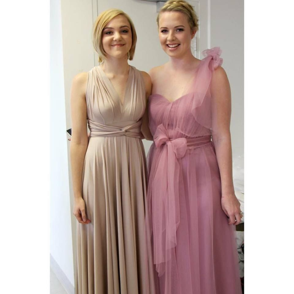 Gorgeous bridesmaids in our goddess by nature signature multiway gorgeous bridesmaids in our goddess by nature signature multiway ballgown tulle multiway ballgown such a ombrellifo Choice Image