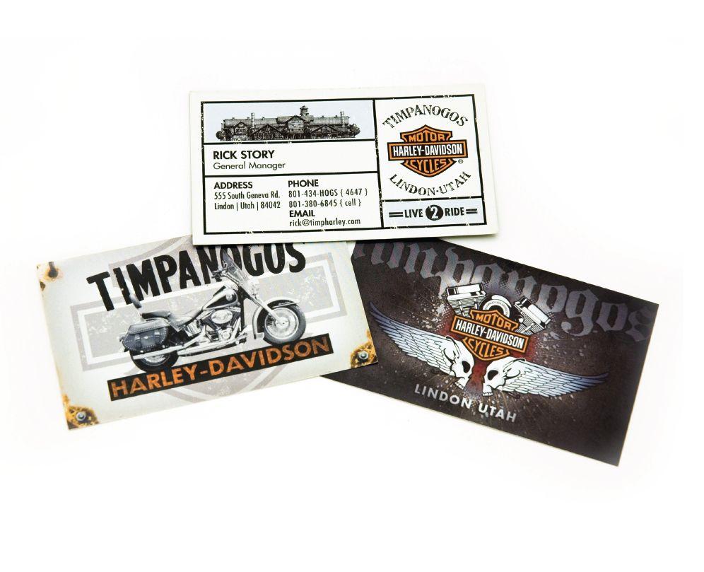 Timpanogos Harley-Davidson Business Cards by FuturaOblique | Brandon ...