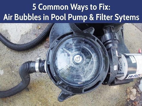 Common Causes Of Air In Your Pool S Pump Amp Filter System E Z Test Pool Supplies Pool Pump Pool Supplies Pool Solar Panels
