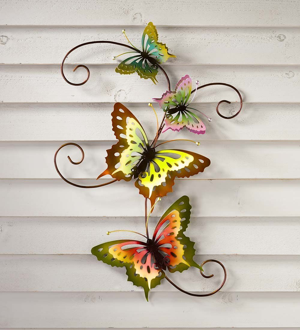 Butterfly Scroll 3d Metal Wall Art To View Further For This Item Visit The Image Link Affili Metal Butterfly Wall Art 3d Metal Wall Art Butterfly Wall Art