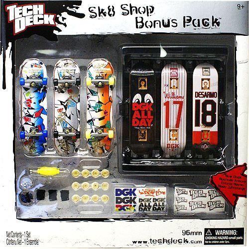 Tech Deck Skate Shop Bonus Pack Gift Ideas For Kids