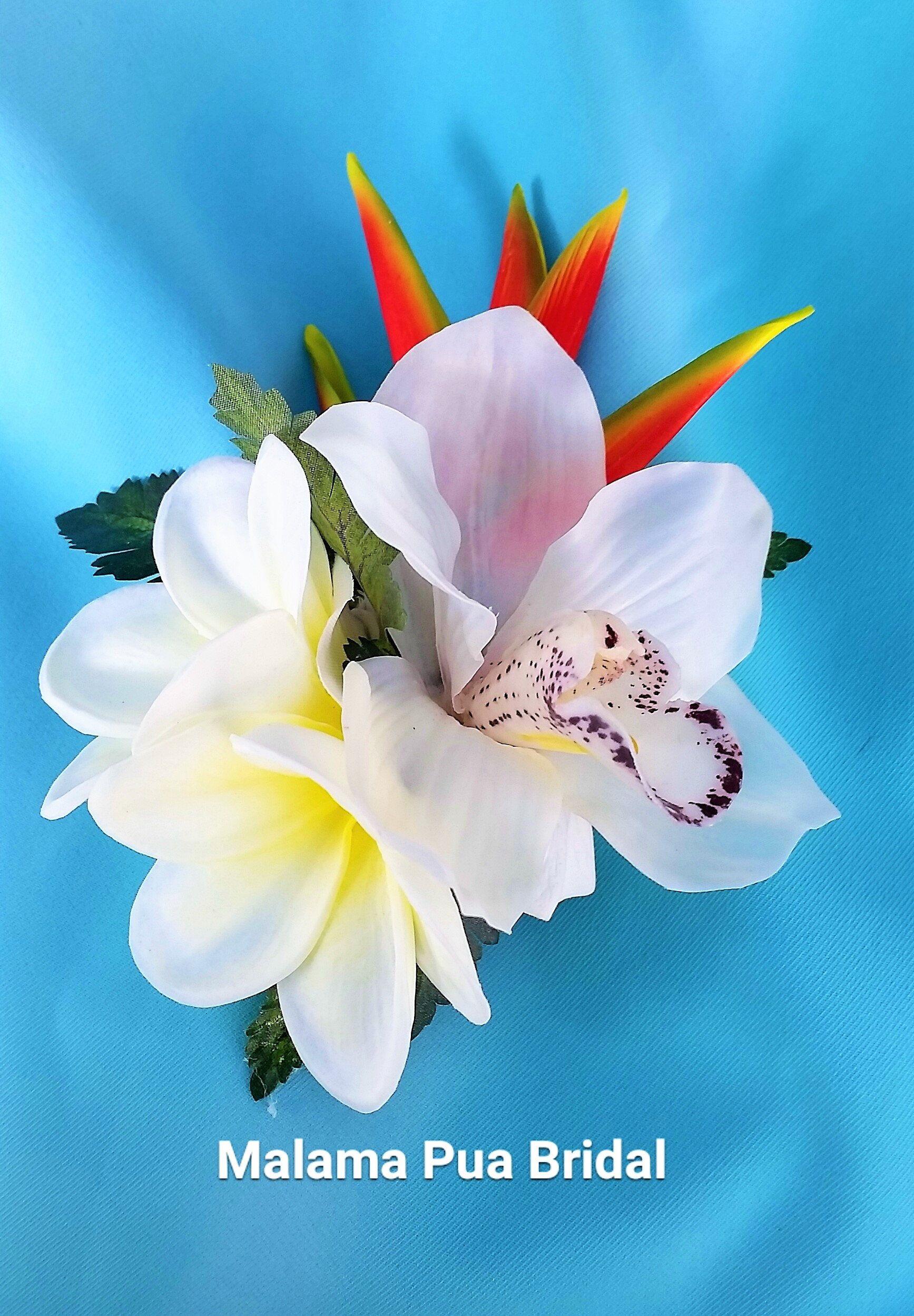 Tropical hair flower clip hair accrssory silk hair flowers tropical hair flower clip hair accrssory silk hair flowers hawaiian flower hair piece mightylinksfo