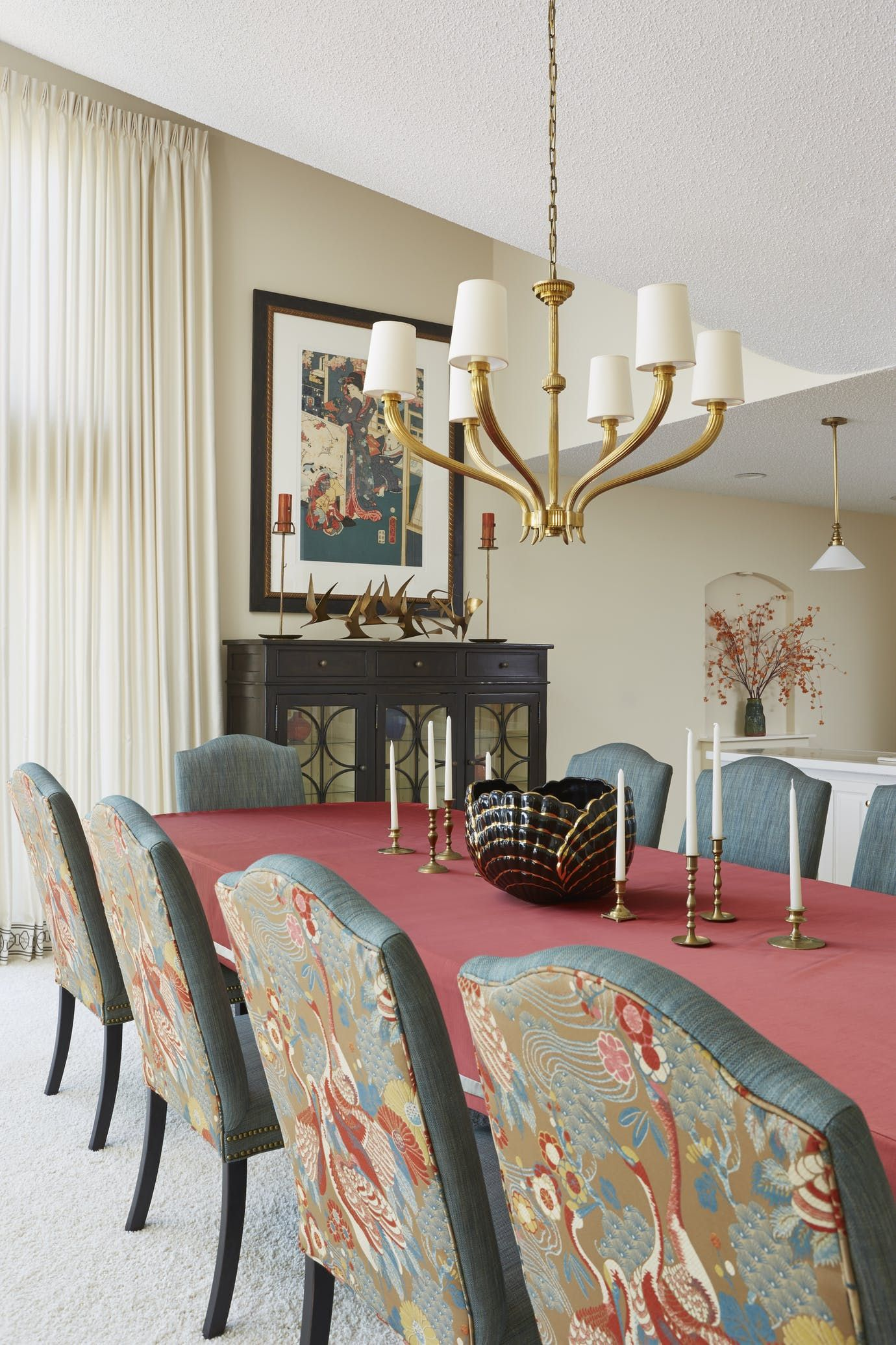 asian inspired dining room dining asian eclectic art deco by susan