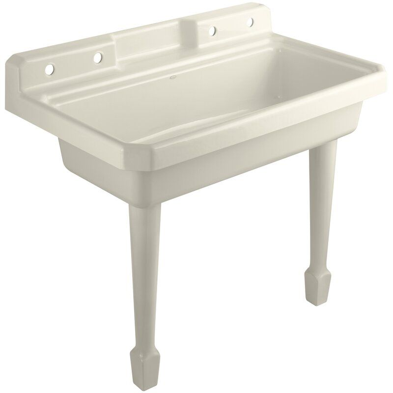 Harborview 48 x 28 wall mounted laundry sink in 2020