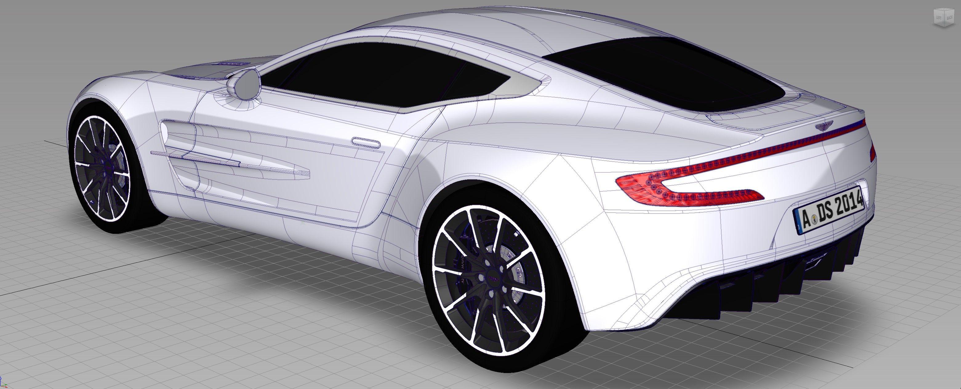Latest Autodesk Alias model! Aston Martin One 77. Quick renders in VRED - Album on Imgur