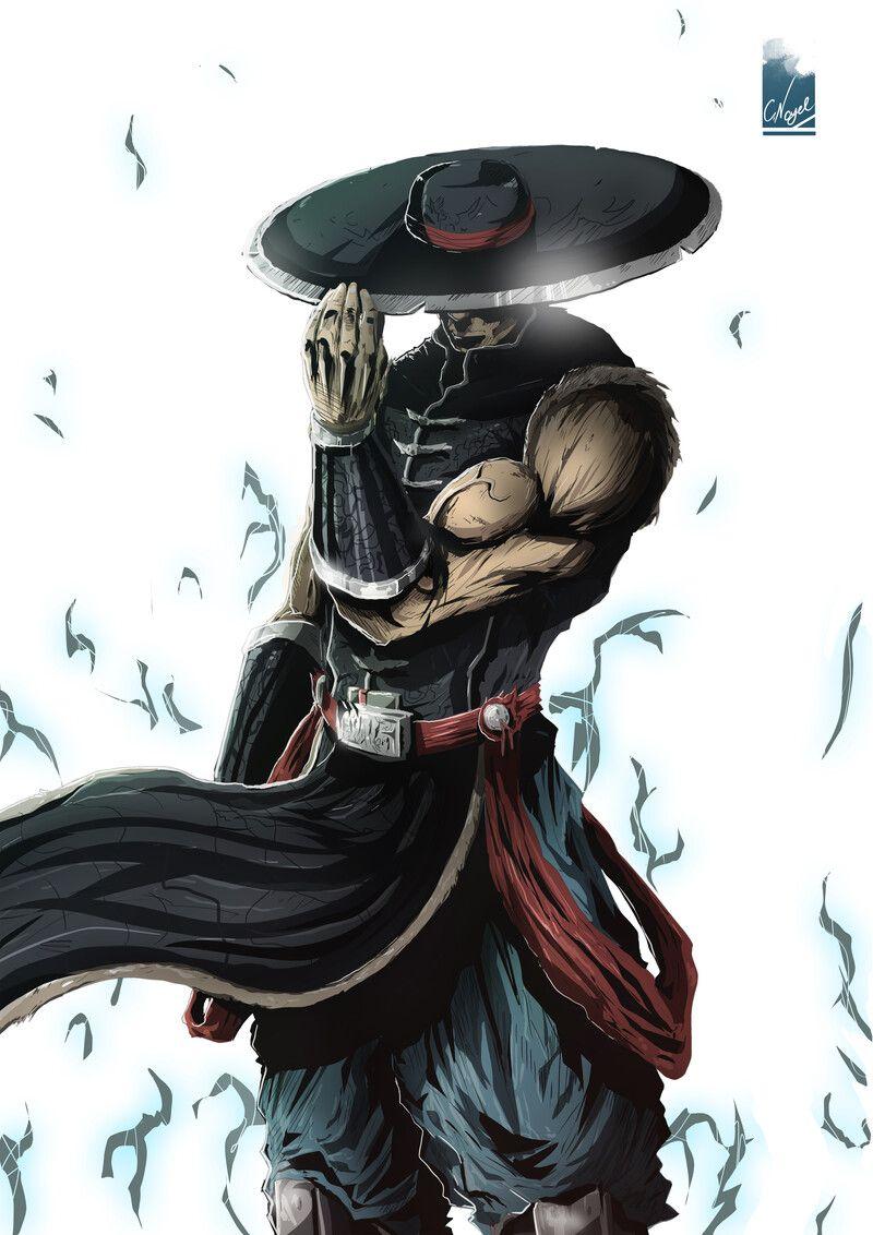 Artstation Kung Lao From Mortal Kombat Franchise Colby Nagel Mortal Kombat Art Raiden Mortal Kombat Mortal Kombat Comics