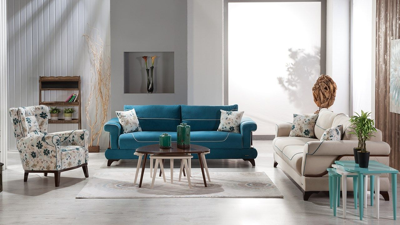 Renkli Salon Dekorasyonu 7 Mobilya Fikirleri Koltuklar Mobilya