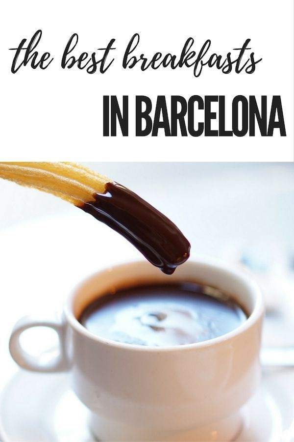 Start your day off right with one of these amazing breakfasts in Barcelona!