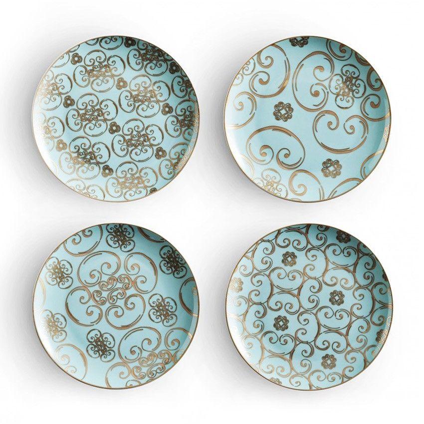 arabesque plates | Products I Love | Pinterest
