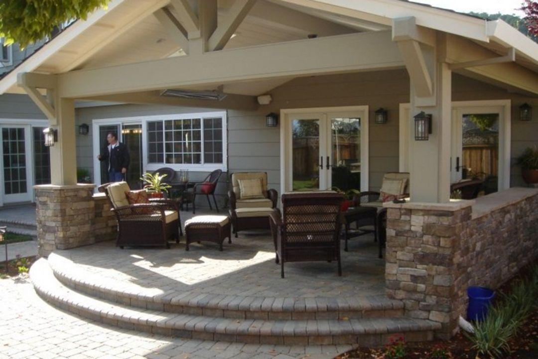 Top 30 Comfortable Front Porch Design And Decor Ideas Https Decoor Net 30 Comfortable Front Porch Design And Decor Backyard Patio Backyard Porch Patio Design