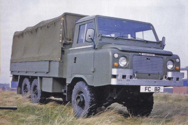 Land Rover Llama Prototypes For 101