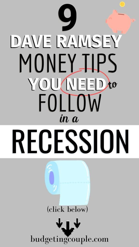9 Dave Ramsey Money Tips💸 You Need to Follow in a