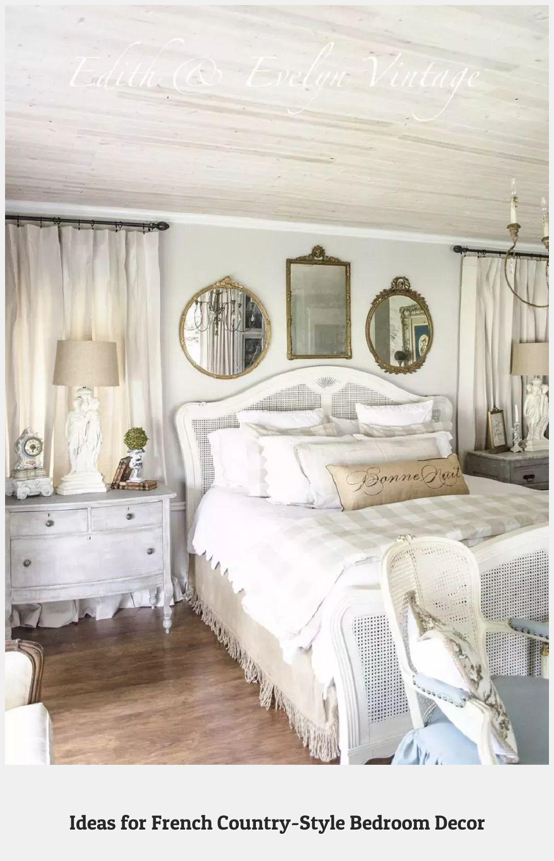 camera da letto country eleganti, armoniose, accoglienti: Pin On My Pins French Country Decorating Bedroom Country Style Bedroom French Bedroom Decor