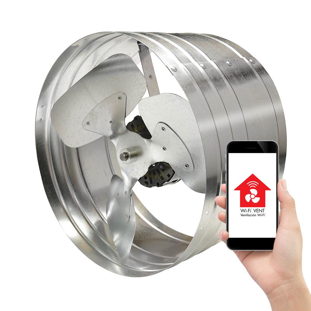 Master Flow 1450 Cfm Silver Electric Powered Gable Mount Electric Attic Fan Egv5smt The Home Depot Attic Fan Attic Vents Attic Ventilation