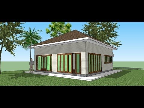 Small House Plans make the Tiny House in Google SketchUp 2013
