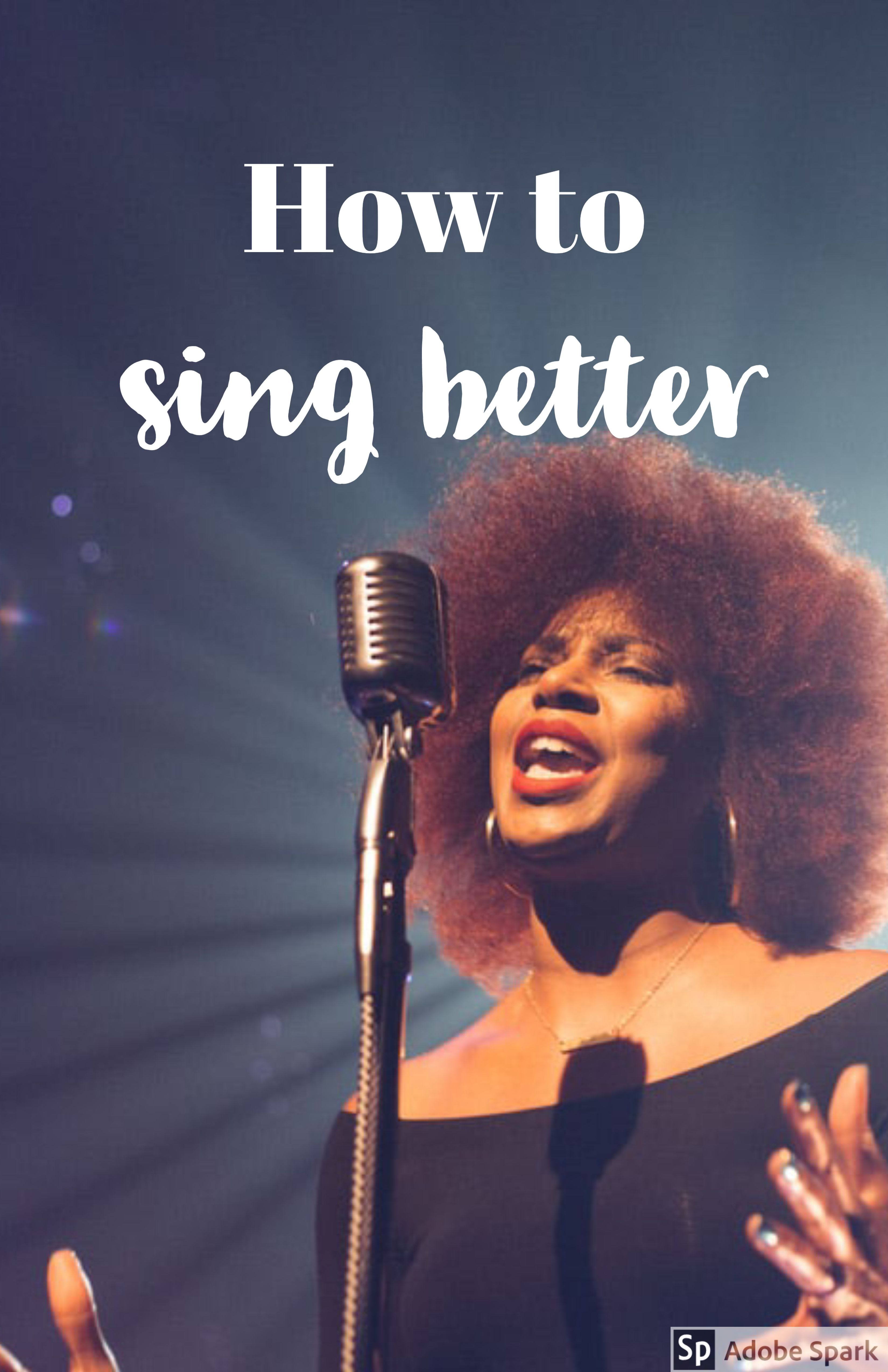 /How to get better at singing/musical theatre/musicals/theater kid/tips/glee/ #singingtips  Hi lovebug! I hope you're having an amazing day! In this post, I will share some tips on how to sing better for all of the theater kids out there, or just people who want to sing better.Since I was little I loved to sing. I would go around the house singing and dancing like the kitchen was my stage. But I only started to be in chorus groups when I was seven.