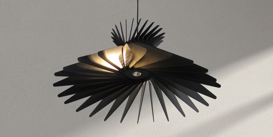 Spline Pendant Light From Craft Design Realisation In Sydney It Is Made Of Wood And Comes Flat