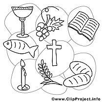 Kommunion Symbole Kommunion Erstkommunion Kerze Und