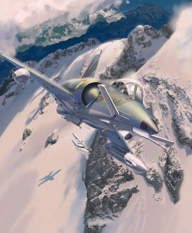 <p>Avions Marcel Dassault Mirage Milan<br/>Fana de l
