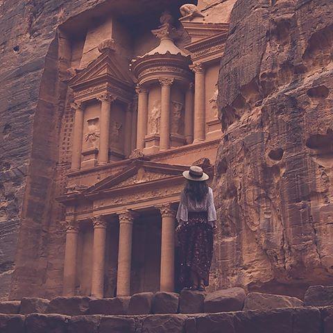 Petra, Jordan (: @sefayamak)