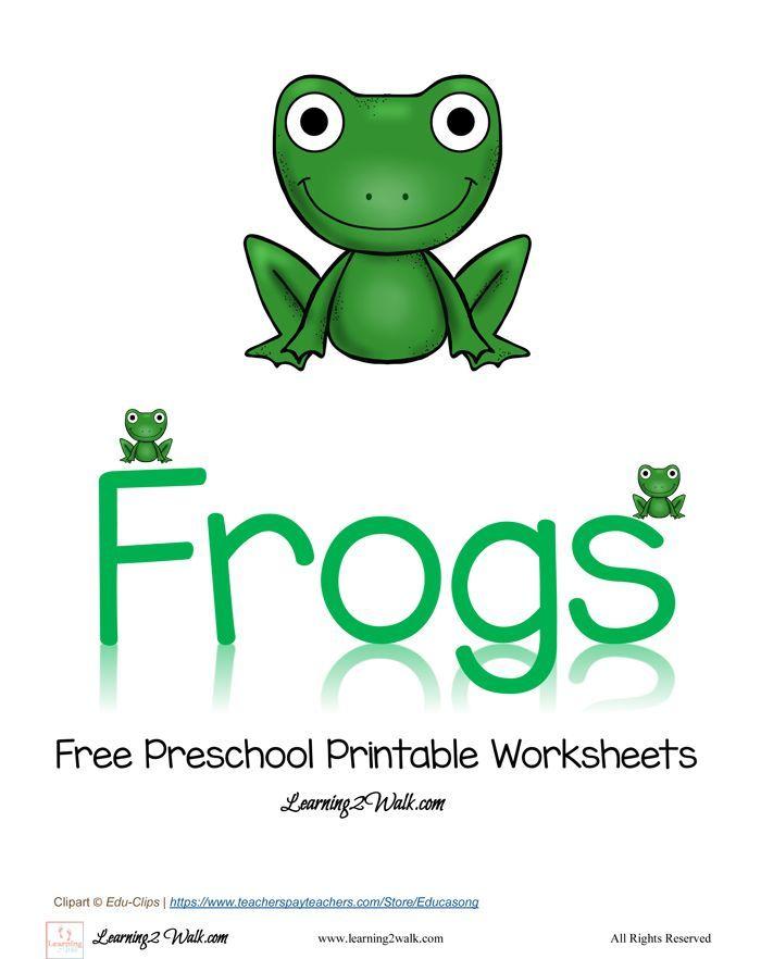 Free Preschool Printable Worksheets Frog – Frog Worksheets