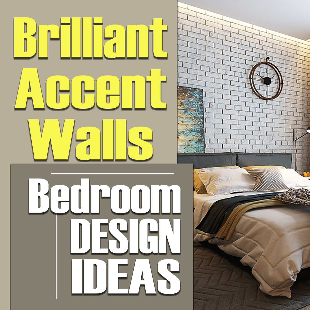 Pin by HomeDesign.HanD on Bedrooms With Accent Walls | Pinterest ...