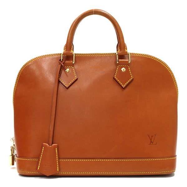Louis Vuitton Caramel Nomade Leather Alma Handbag