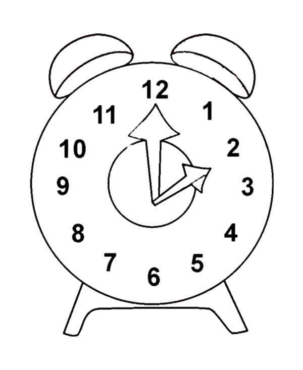 Clock Picture Coloring Pages Best Place To Color Clock Coloring Pages Color